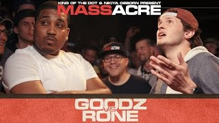 Rone vs Goodz