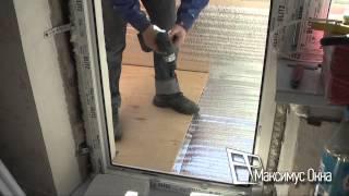 видео остекление балкона под ключ