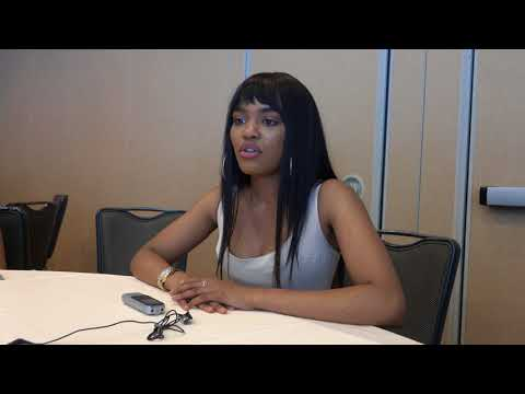 China Anne McClain 'Black Lightning' Interview