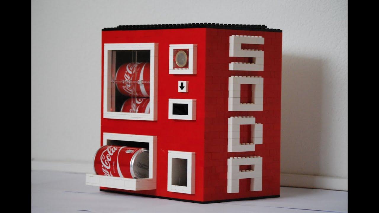 small soda machine