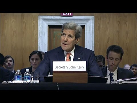 Secretary Kerry Testifies Before Senate Committee on Appropriations