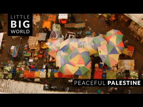Peaceful Palestine (Time-Lapse ,Tilt-Shift)