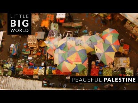 Peaceful Palestine (Time-Lapse ,Tilt-Shift)
