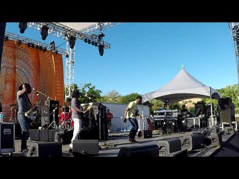 Romain Virgo and the Unit Band whole show Sierra Nevada World Music Festival June 23, 2018