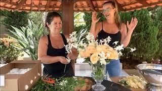 Aulas grátis de arranjo floral aprenda fazer dois arranjo