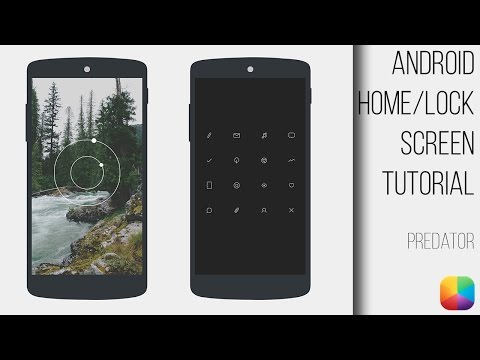 Predator - Android Homescreen & Lockscreen Tutorial