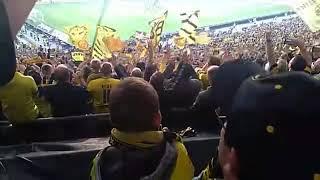 VfB Stuttgart - Borussia Dortmund 0:4 Verabschiedung der Spieler des BVB Gästeblock