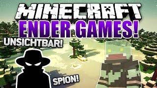ENDLICH GEHTS WEITER! Unsichtbar als SPION - Minecraft ENDER GAMES SERIE #24 | ungespielt