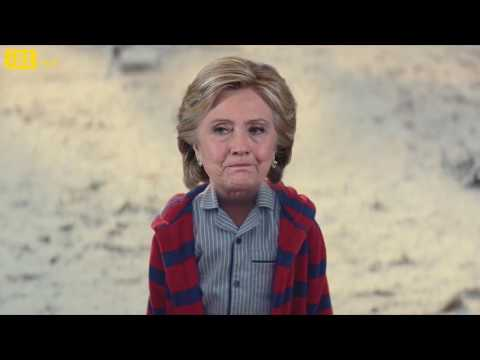 Thumbnail: Hillary Clinton and Donald Trump John Lewis Christmas Ad