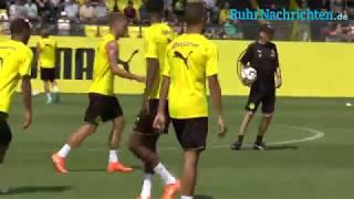 Erstes BVB-Training unter Lucien Favre