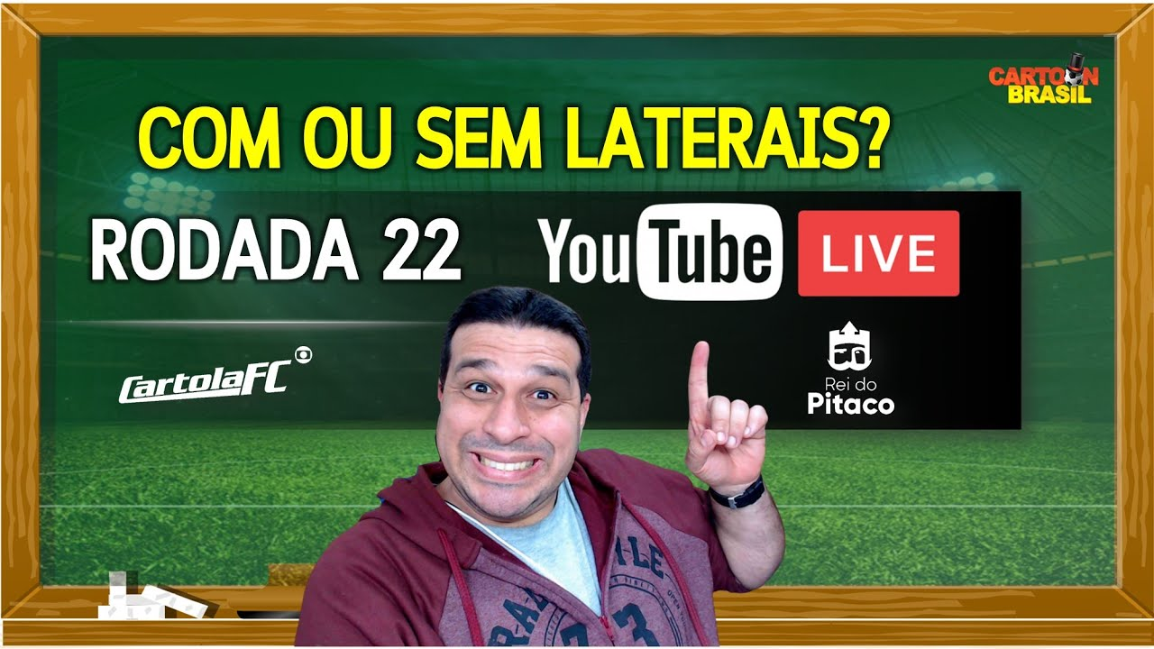 Download LIVE DICAS RODADA 22 - CARTOLA FC 2021
