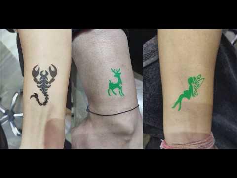 Temporary Tattoo Body Art