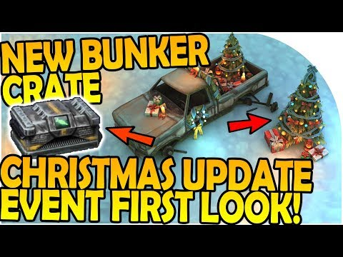NEW UPDATE FIRST LOOK CHRISTMAS EVENT - NEW BUNKER CRATE - Last Day On Earth Survival 1.6.10 Update