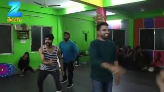 Anchor Pradeep Dance Performance