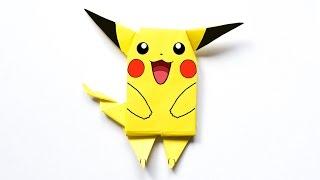 Pikachu. Origami pokemon