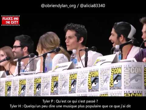 VOSTFR TEEN WOLF  COMIC CON 2014 PART 2  Dylan O'Brien