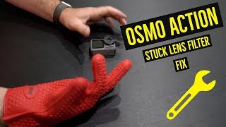 How to Remove Osmo Action Filter
