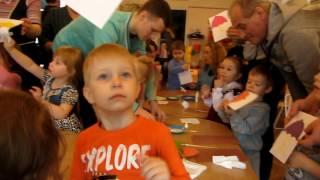 Открытый урок в детском садике. Дети 4 5 лет. Тема: