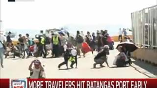 04/8/2017 6.0 Mag Earthquake Strike Batangas Mindoro During Live News Report from ANC