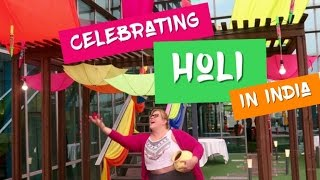 Travel Vlog: Celebrating Holi in India