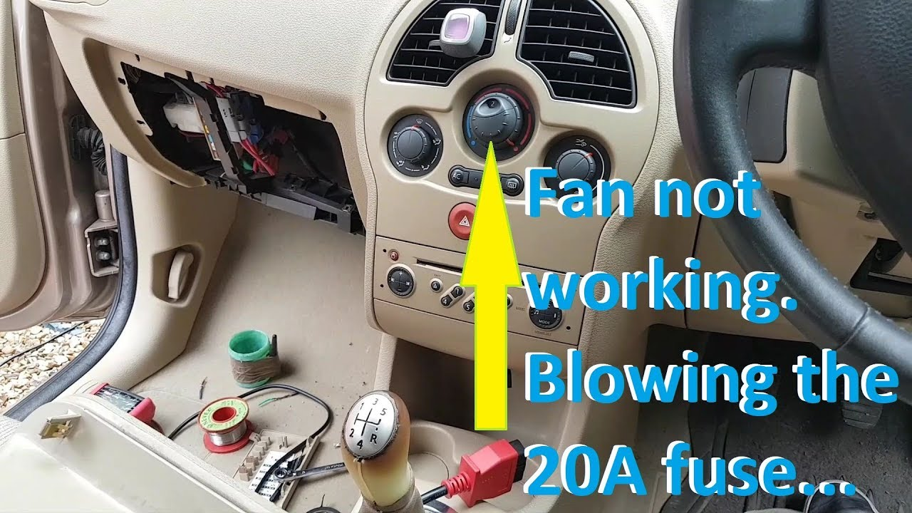 renault modus hvac fan not working and blowing fuse... fault finding and  repair. - youtube  youtube