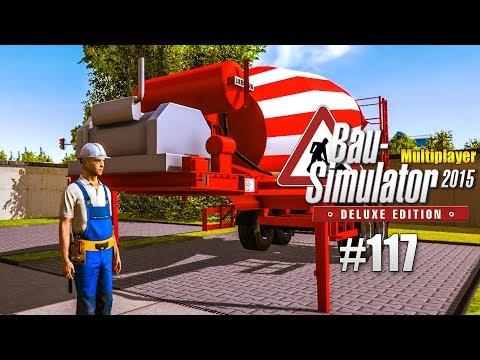 Bau-Simulator 2015 Multiplayer #117 - Fußball-Tore - fertig! CONSTRUCTION SIMULATOR Deluxe |