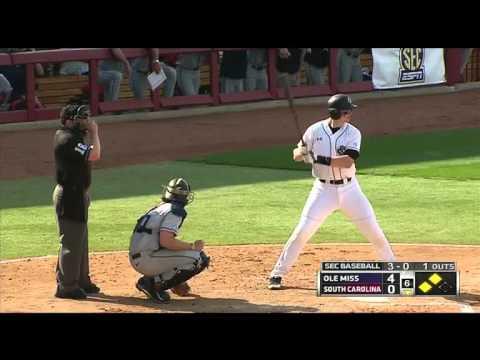 South Carolina vs Ole Miss Baseball 2014 Game #2 - YouTube