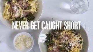 Slow-cooked Lamb Shoulder Pasta   Caught Short Cook Book