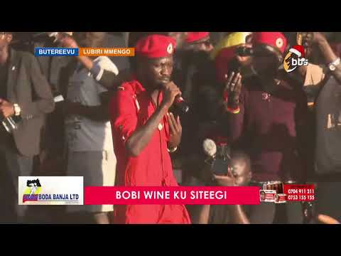 Omuyimbi Bobi Wine alaludde abantu mu Nkuuka Jubileewo Sabula 2018