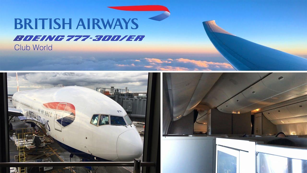 British Airways Business Class Boeing 777-300/ER Seattle to London FULL  FLIGHT
