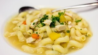 Chicken Noodle Soup | Quick & Easy