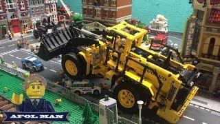 LEGO Technic Volvo L350F Wheel Loader 42030 review! Full RC control!
