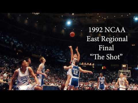 1992 East Regional Final - Duke v Kentucky - Cawood Ledford's Final Game Broadcast