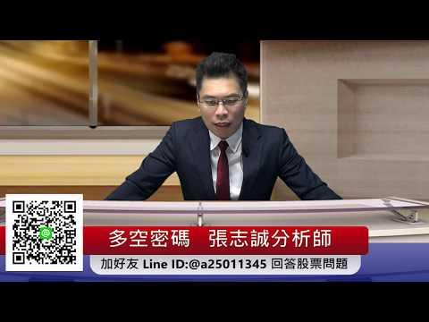 2019.8.19張志誠 分析師 股市多空密碼 台股解盤 技術分析