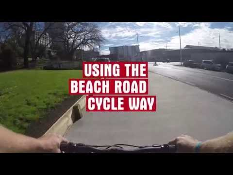 Beach Road Cycleway stage 1 is now complete and ready to ride