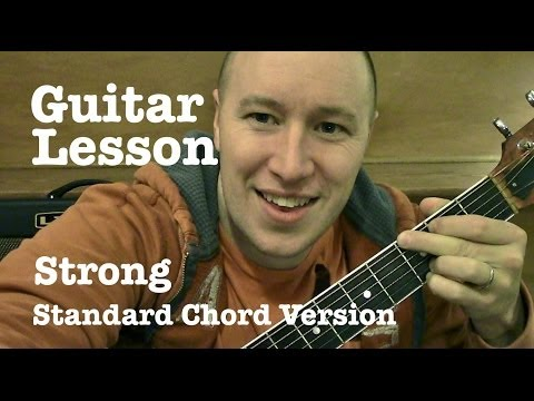 Strong ★ Guitar Lesson ★ Standard Chord Version ★ One Direction