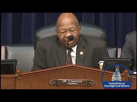 Chairman Cummings Opening:Authorizing the issuance of subpoenas related to Child Separation