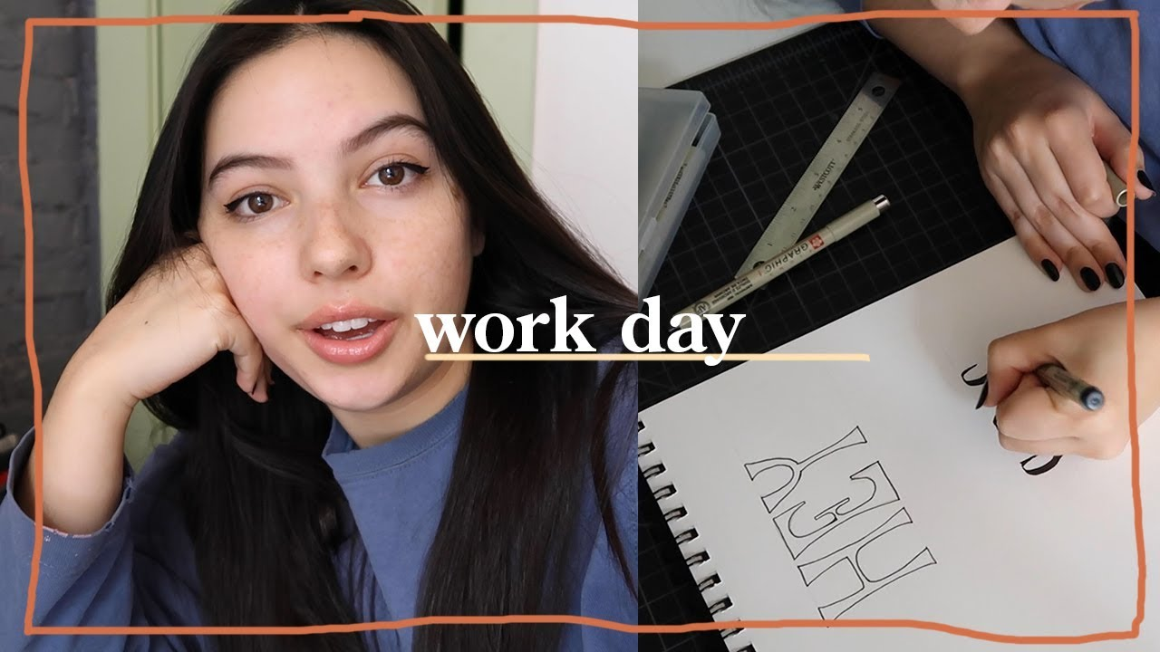 My Work Day As A Freelance Graphic Designer