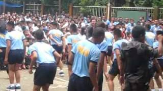 Dancing Police Recruits of Gaas, Balamban, Cebu
