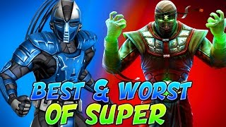 THE BEST AND WORST OF SUPER #9 - Mortal Kombat X THE POWER OF BLANCHE! (Mortal Kombat XL Montage)