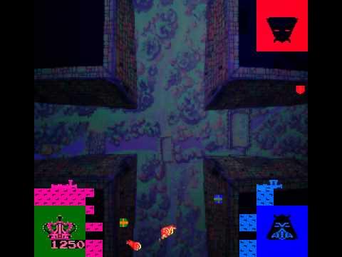 Arcade Game: Warlords (1980 Atari)