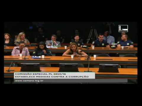 PL 4850/16 - ESTABELECE MEDIDAS CONTRA A CORRUPÇÃO - Reunião Deliberativa - 16/08/2016 - 09:33