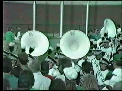 Ohio University Marching 110 - 1988 Parents' Weekend Post Game