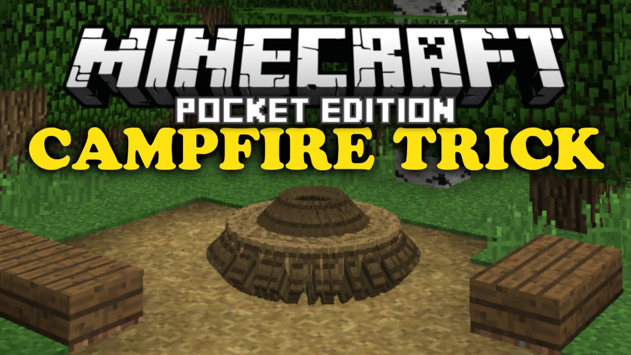 Campfire Trick Minecraft Pe