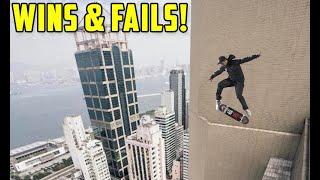Skaters vs Ultimate Skateboarding Tricks! (Wins & Fails)