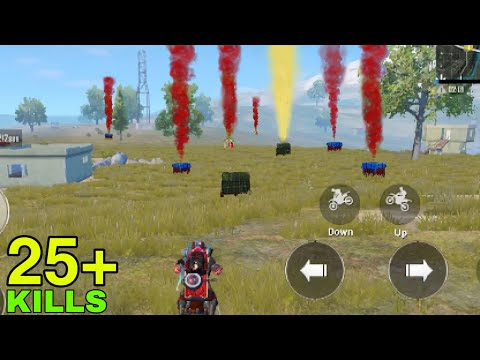Airdrop RECORD In One Game | PUBG MOBILE