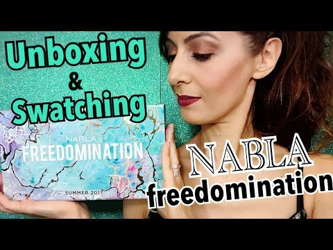 NABLA FREEDOMINATION COLLECTION | Unboxing & Swatching