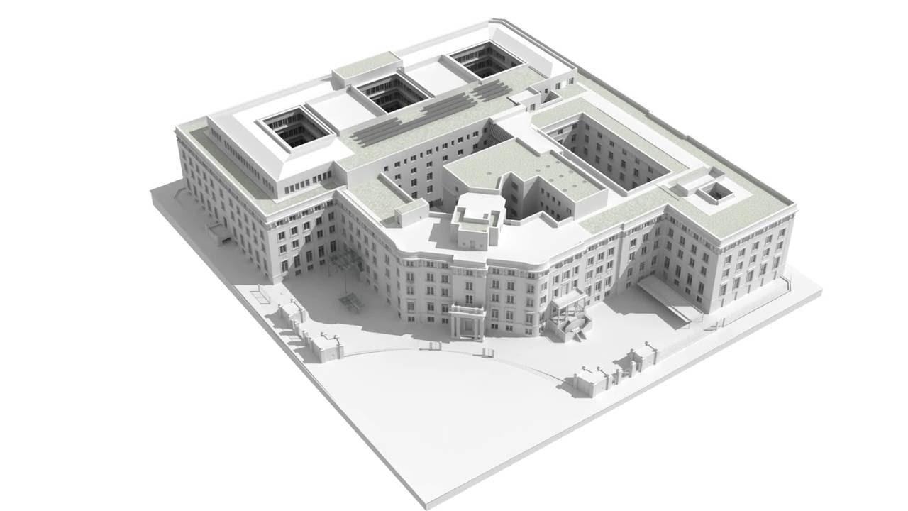 Proyecto De La Futura Sede Del Ministerio De Asuntos Exteriores Y De