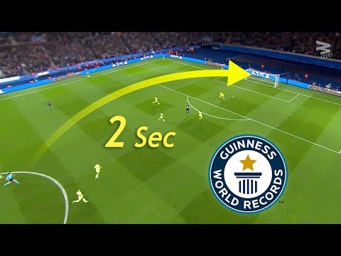 Top 10 Fastest Goals In Football