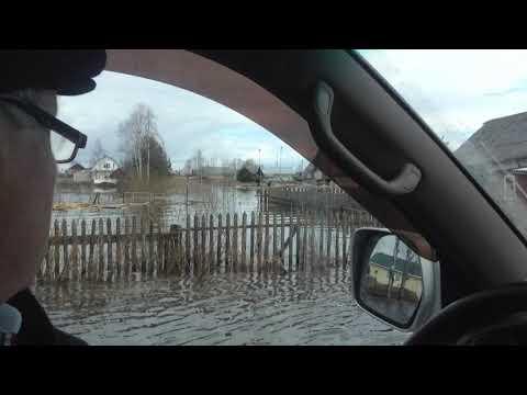 Наводнение в Красавино в 2016